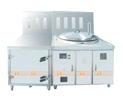 LBZJ006节能灶连蒸柜